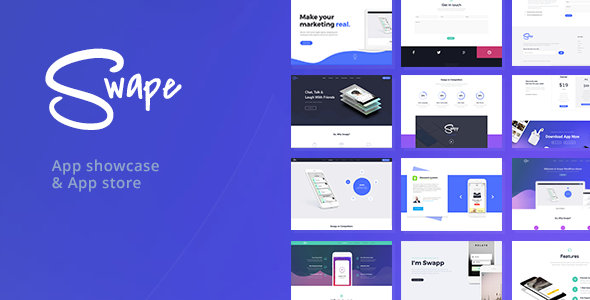 test Swape - App Showcase & App Store WordPress Theme