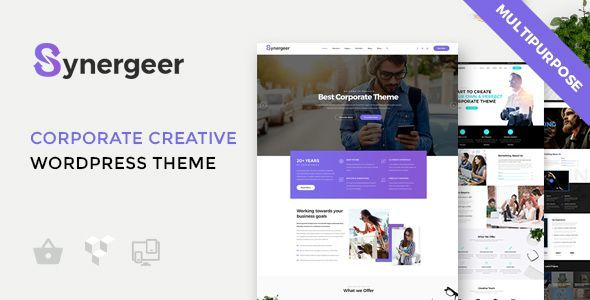 test Synergeer - Corporate Creative WordPress Theme