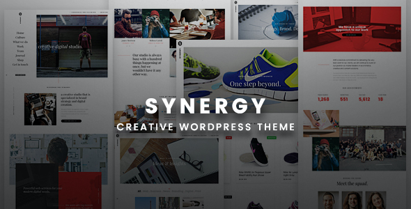 test Synergy Creative - Creative WordPress Responsive Theme
