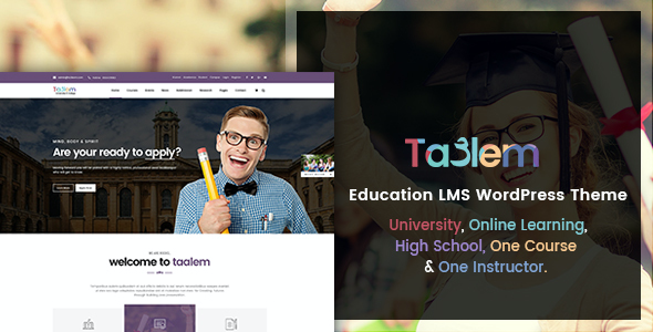 test Taalem – Education LMS WordPress Theme