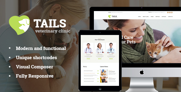 test Tails | Veterinary Clinic, Pet Care & Shop