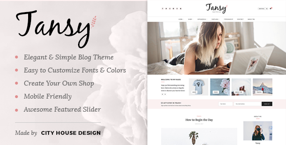 test Tansy - A Responsive WordPress Blog Theme