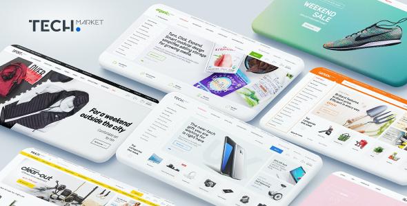 Test du thème WordPress Techmarket , découvrez notre avis
