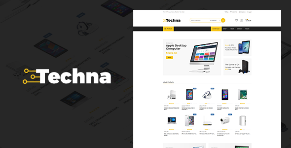 test Techna - Electronics Shop WooCommerce Theme