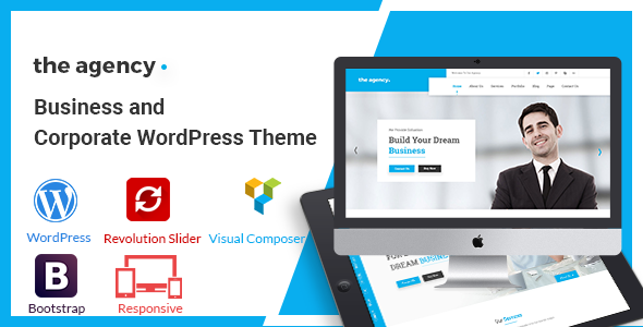 test The Agency - Corporate And Business WordPress Theme