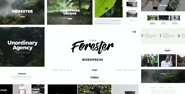 Test du thème WordPress The Forester , voici notre avis