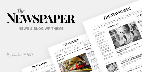 Test du thème WordPress The Newspaper , voici notre avis