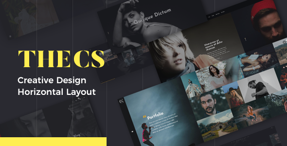 test Thecs - Portfolio WordPress Theme