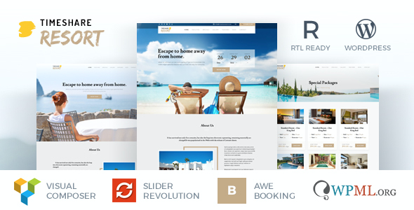 test TimeShare - Single Property / Resort WordPress Theme