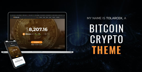 test Tolarcek - A Bitcoin & CryptoCurrency WordPress Blog Theme