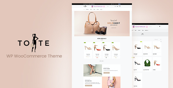 test Tote - WordPress WooCommerce Theme