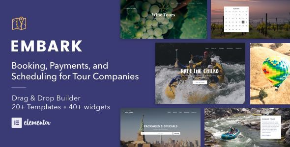 test Tour Booking & Travel WordPress Theme - Embark