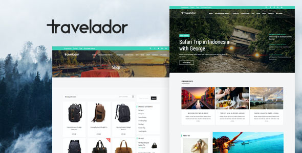 test Travelador - WordPress Blog & Shop Theme