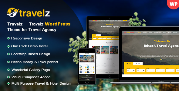Test du thème WordPress Travelz , découvrez notre avis