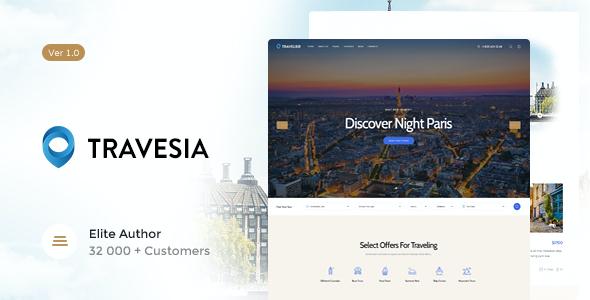 Test du thème WordPress Travesia , voici notre avis