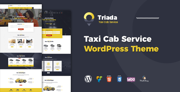 test Triada - Taxi Cab Service Company WordPress Theme