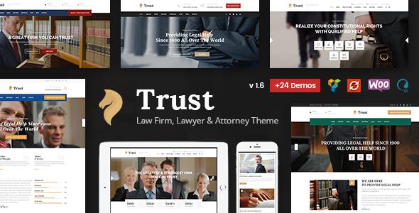 Test du thème WordPress Trust Business , voici notre avis