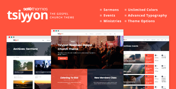 test Tsiyyon - Responsive Gospel Church Theme