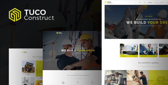 test Tuco - Construction & Building WordPress Theme