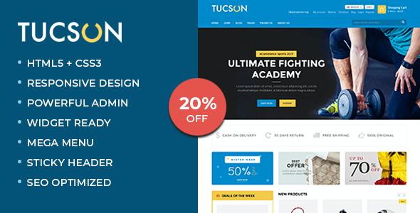 Test du thème WordPress Tucson , voici notre avis