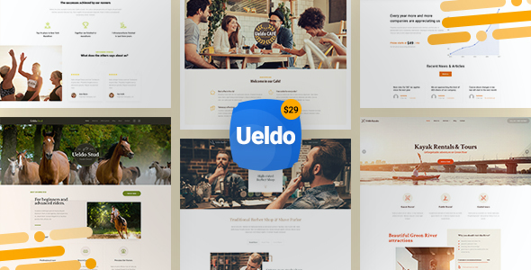 Test du thème WordPress Ueldo , découvrez notre avis