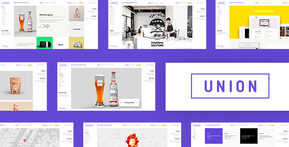 test Union - Portfolio and Agency WordPress Theme
