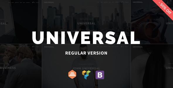 Test du thème WordPress Universal , découvrez notre avis