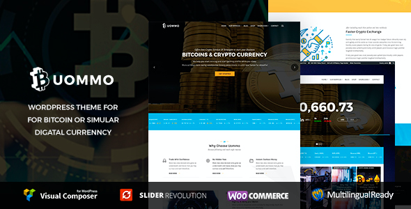 test Uommo - Bitcoin & Mining , Cryptocurrency News Theme