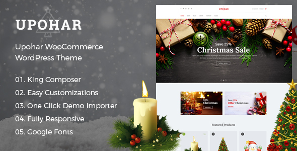 test Upohar - WooCommerce WordPress Theme