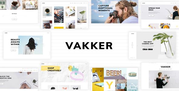 Test du thème WordPress Vakker , découvrez notre avis