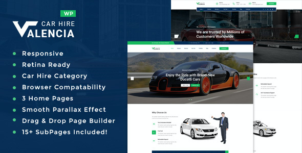 test Valencia - Car Hire WordPress Theme