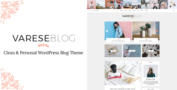 test Varese - Clean & Personal WordPress Blog Theme