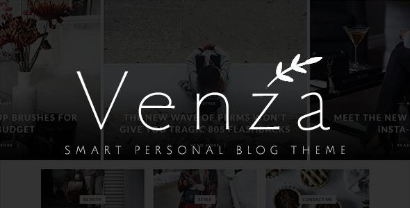 Test du thème WordPress Venza , voici notre avis