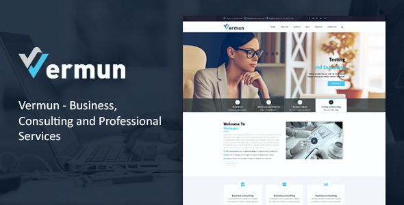 test Vermun | Consulting and Business & Finance WordPress Theme