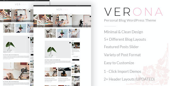 Test du thème WordPress Verona , voici notre avis