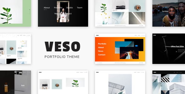 test Veso - Multipurpose Portfolio Theme