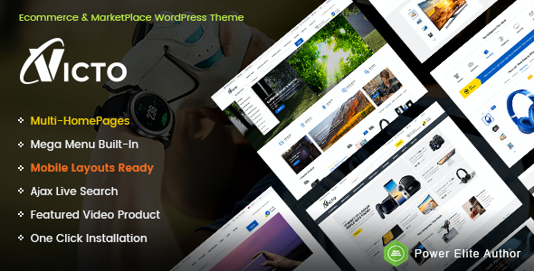 test Victo - Professional eCommerce & MarketPlace WordPress Theme (Mobile Layouts Included)