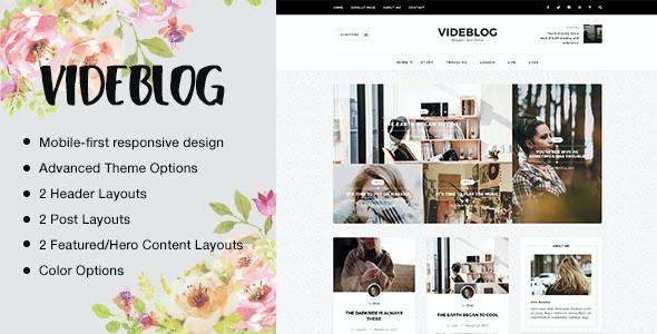Test du thème WordPress Videblog , voici notre avis