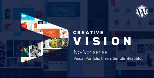 test Vision - Creative Clean Portfolio WordPress Theme