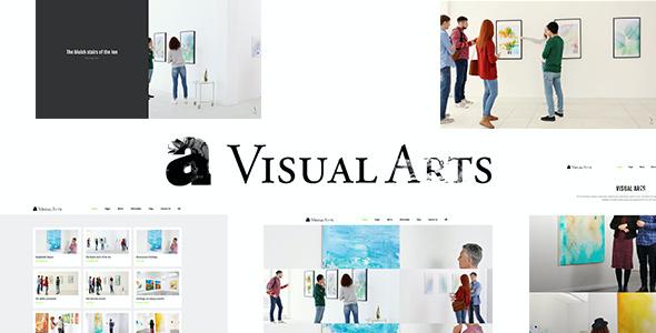Test du thème WordPress Visual Arts , découvrez notre avis
