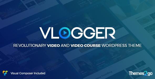 Test du thème WordPress Vlogger , voici notre avis