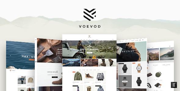 Test du thème WordPress Voevod , découvrez notre avis