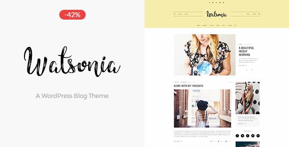 Test du thème WordPress Watsonia , découvrez notre avis