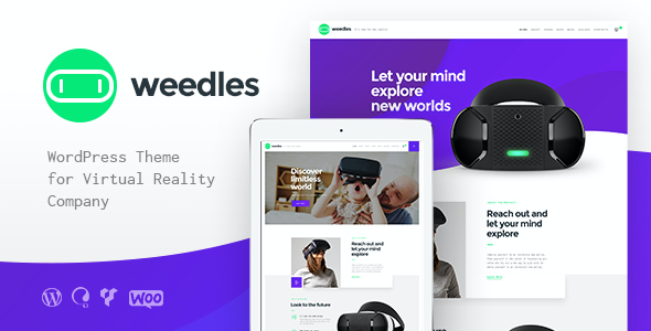 test Weedles | Virtual Reality Landing Page & Store