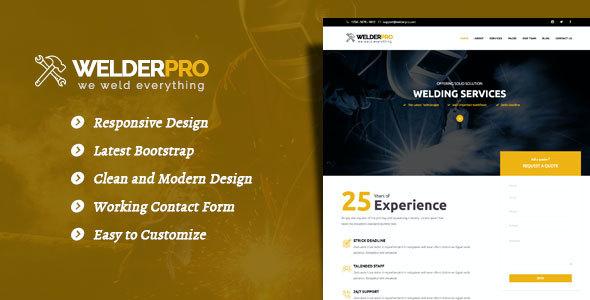 Test du thème WordPress Welder Pro , voici notre avis