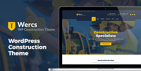 test Wercs - WordPress Construction Theme