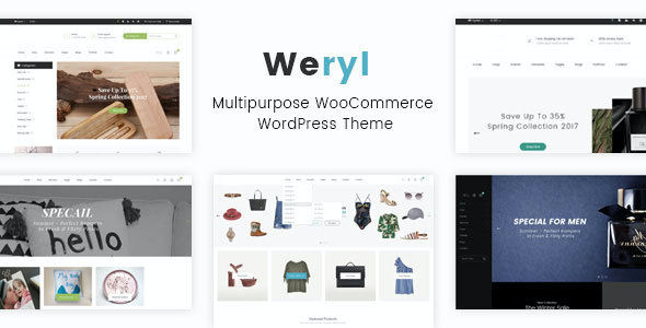 Test du thème WordPress Weryl , découvrez notre avis