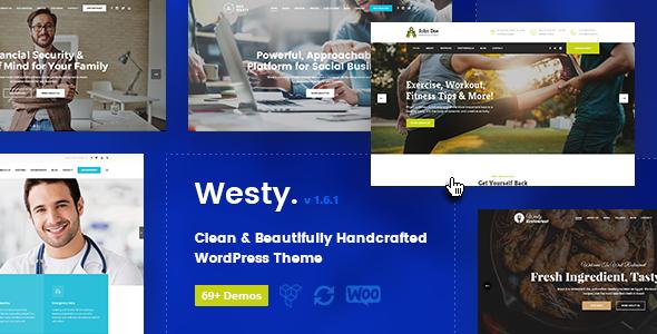 Test du thème WordPress Westy , voici notre avis