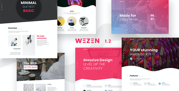 test Wezen - Creative Portfolio WordPress Theme