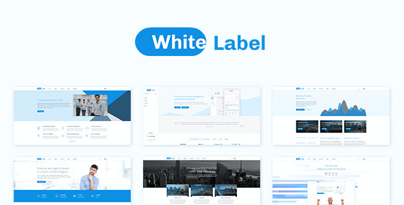 test White Label - Clean Theme for Modern Web Businesses